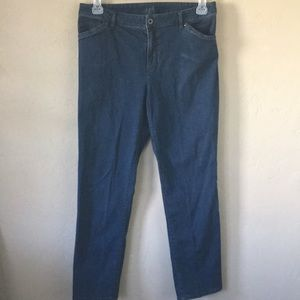 J. Jill Jeans - J Jill Tried & True Fit Slim Ankle Stretch Sz 10
